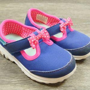 SKECHERS Go Walk Bitty Bow Memory Foam Sneakers 8
